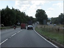 SO5620 : A40 - junction for Goodrich near Geddes by J Whatley