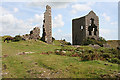 SX2669 : St Cleer: derelict engine houses, South Caradon Mine by Martin Bodman