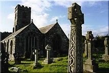 SX1156 : St Winnow church by David Gearing