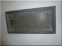 TM3973 : St Andrew's Bramfield:  memorial (2) by Basher Eyre