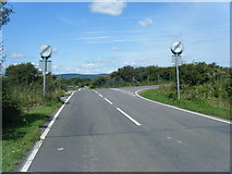 SS8380 : New access link road east of Cornelly Quarry by Colin Pyle