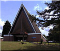 TL4310 : St Thomas More RC Church, Harlow, Essex by Peter Stack