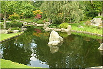 TQ2479 : The Kyoto Garden, Holland Park by Phillip Perry