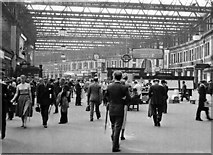 TQ3179 : Waterloo (Main) Station, concourse by Ben Brooksbank