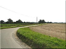 TF9608 : Towards Daffy Green from Thorpe Row by Adrian S Pye