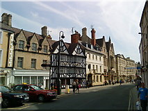 SP0202 : End of the market place in Cirencester by Andrew Abbott