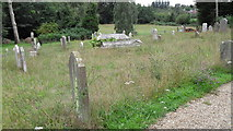 TM4077 : St. Peter, Holton: wild life area in the churchyard by Basher Eyre