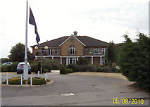 SU5701 : Driveway of the golf club at Lee-on-the-Solent by Margaret Sutton