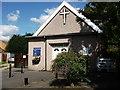SP3282 : Emmanuel Christian Centre, Greens Road, Keresley by John Brightley
