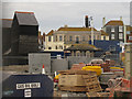 TQ8209 : Jerwood Gallery Construction Site by Oast House Archive