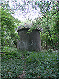 TL2516 : Southern air shaft above Welwyn North tunnel by John Lucas