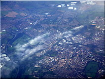 SP7660 : Northampton from the air by Thomas Nugent