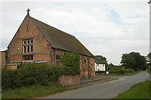SJ6528 : Primary School at Heathcote by Row17