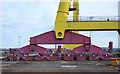 J3575 : Shipyard crane, Belfast by Rossographer