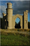 SO8842 : Restored Dunstall Castle by Philip Halling