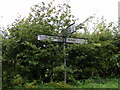 TM4165 : Roadsign on Hawthorn Road by Adrian Cable