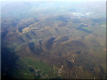 NS8815 : Leadhills and Wanlockhead from the air by Thomas Nugent