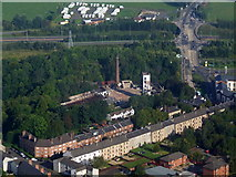 NS4263 : Remains of Paton's Mill from the air by Thomas Nugent