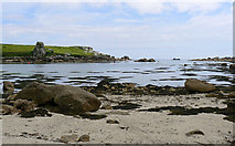 SV9210 : Porth Hellick at mid-tide by John Rostron