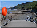 SN4059 : The slipway at Cei Bach by Nigel Brown