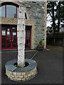 C2221 : Sculpture, Ramelton Public Hall by Kenneth  Allen