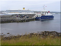 HU4841 : Bressay Harbour by Colin Smith