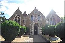 TQ0044 : Holy Trinity Church, Bramley by N Chadwick