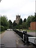 SO8276 : Kidderminster Lock on the Staffs and Worcs Canal by Richard Rogerson
