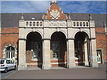 TF3387 : Louth Railway Station by Paddy Griffin