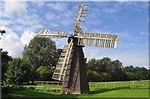 TM0458 : Eastbridge Windpump by Ashley Dace