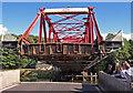 NS4967 : Inchinnan Bascule Bridge, Renfrew by wfmillar