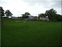 SO4313 : A small Monmouthshire farm near Offa's Dyke Path by Jeremy Bolwell