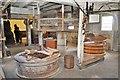 TL9369 : The Stones at Pakenham Mill by Ashley Dace