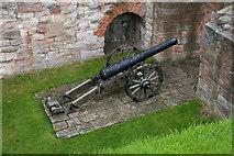 NT9953 : Old Cannon Gun by Eddie Robertson