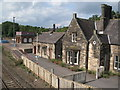NY7063 : Haltwhistle Station buildings by Mike Quinn
