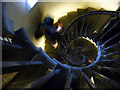 TQ3380 : Spiral Staircase, The Monument, London EC4 by Christine Matthews