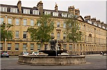 ST7565 : The fountain in Laura Place by Steve Daniels