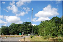 SU9946 : Telecommunications mast by the A281 by N Chadwick