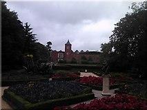 TQ2479 : Holland House viewed from the garden by Robert Lamb