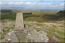 SD7559 : Trig point on Whelp Stone Crag by Tom Richardson