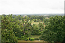 SU7963 : Finchampstead - View over countryside by Brendan and Ruth McCartney