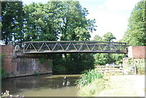 SU9946 : Downs Link Bridge across the River Wey by N Chadwick