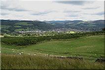 NT2540 : Peebles from Hamilton Hill by Jim Barton