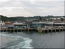 NM8529 : Enhanced ferry terminal at Oban by Sarah Charlesworth