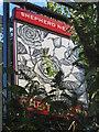 TR0145 : The Rose Inn, Pub Sign, Kenardington by David Anstiss