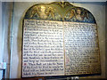 SD4188 : The Ten Commandments, St Anthony's Church, Cartmel Fell by Karl and Ali