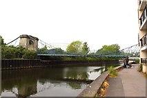 ST7464 : The Victoria Bridge over the River Avon by Steve Daniels
