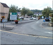 ST5394 : Drill Hall car park, Chepstow by Jaggery
