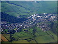 NS5337 : Newmilns from the air by Thomas Nugent