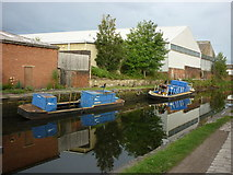 SE2833 : Walking along the Leeds to Liverpool Canal #25 by Ian S